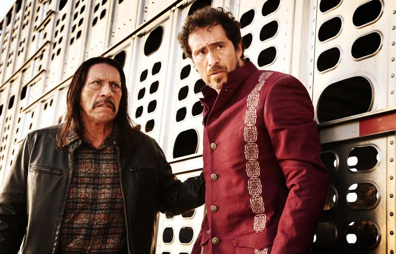 Machete (Danny Trejo) and Mendez (Demian Bichir)