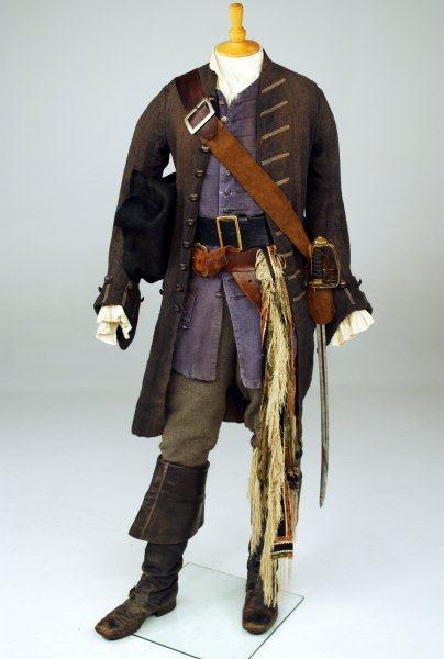 "Johnny Depp's ""Pirates of the Caribbean"" outfit"