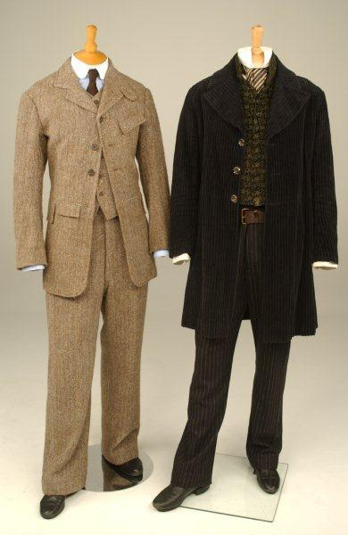 "Downey & Law's ""Sherlock Holmes"" costumes"
