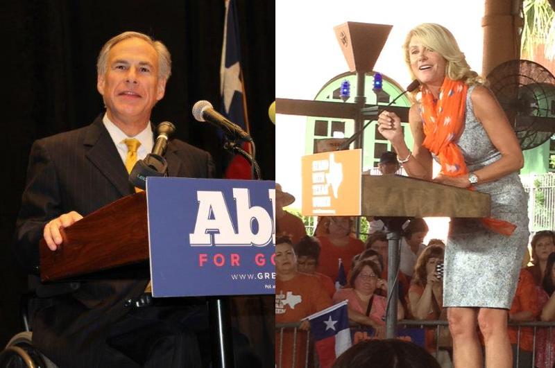 Both Abbott and Davis were on the campaign trail on Veteran's Day, talking about how they would make a difference in the lives of military veterans in Texas.