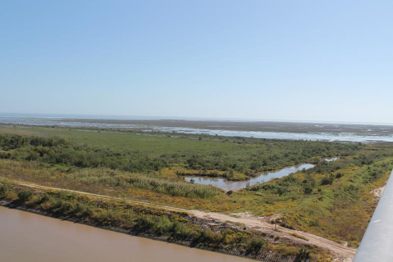 East Matagorda Bay.
