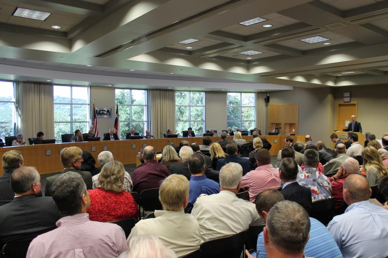 LDuring a November hearing, the LCRA voted to raise the lake level threshold for the Highland Lakes.