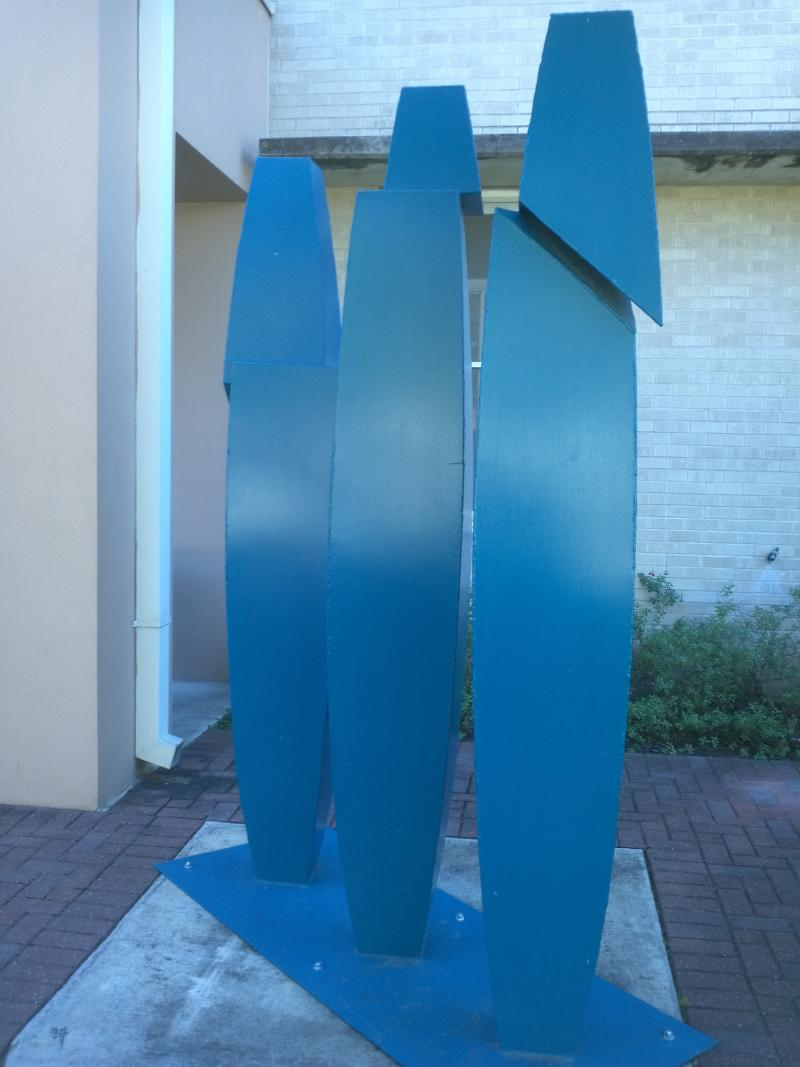 Sculpture by Brother Mel
