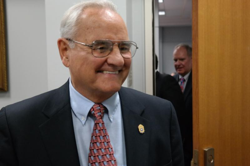 Art Downey, the chairman of the Ethics Review Board, applied first for the District 9 seat.