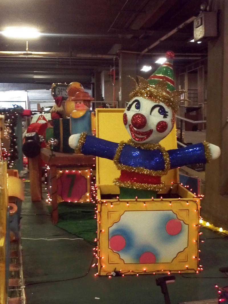 HEB Toyland float