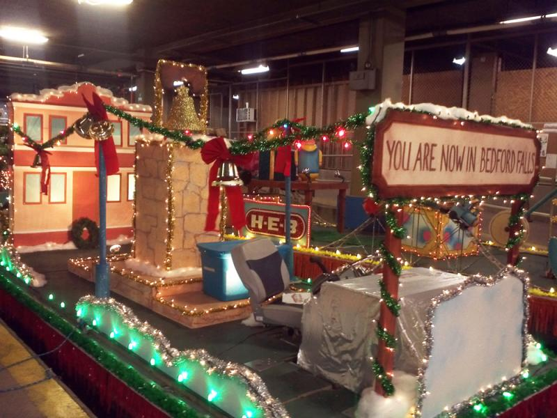 It's a Wonderful Life float