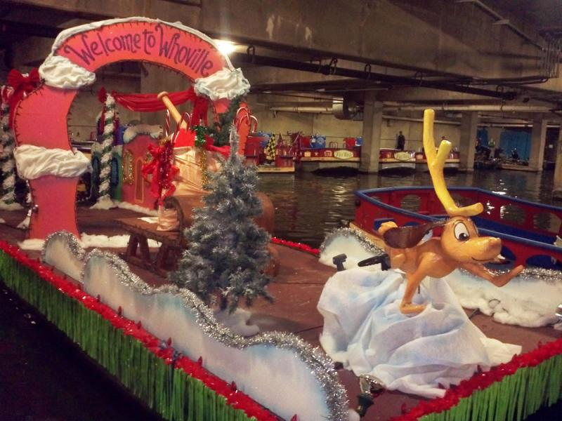Whoville float - or How the Grinch Stole Christmas