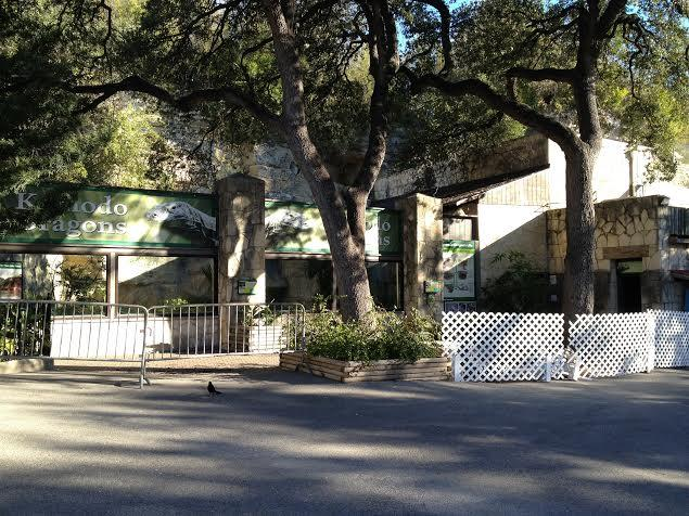 The reptile exhibit at the San Antonio Zoo will be closed for at least eight months