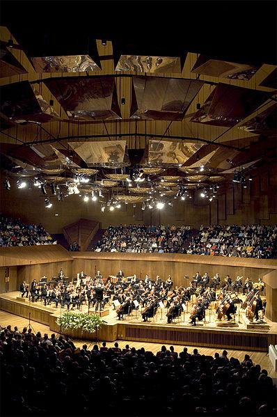 La Orquesta Filarmonica de la UNAM, one of 5 full time professional orchestras in the greater Mexico City area.