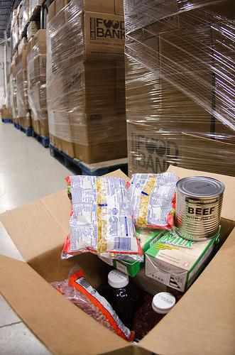 The United States Department of Agriculture donates commodities through programs such as The Emergency Food Assistance Program (TEFAP), which the San Antonio Food Bank (SAFB) packages and palletizes them for fast distribution in San Antonio, TX.