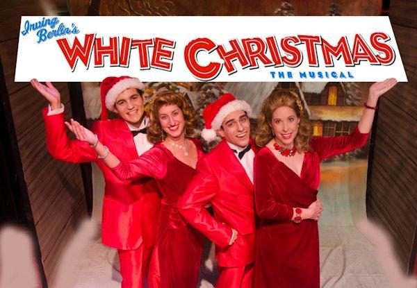 The Cast Of White Christmas.Cameo Theatre Presents Irving Berlin S White Christmas