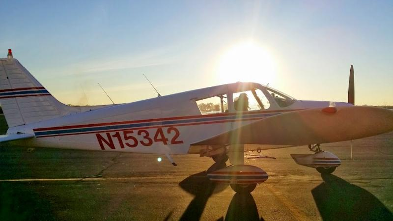 Instructor John Aken turned the Palo Alto aviation technology school around.