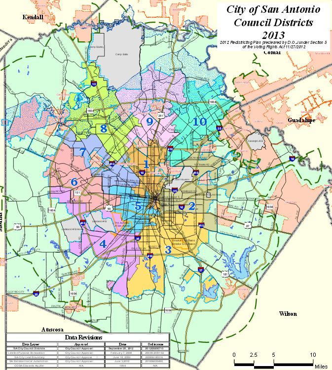 City Council District 1 (orange) is the target of the Comprehensive Neighborhood Sweeps Initiative this weekend.