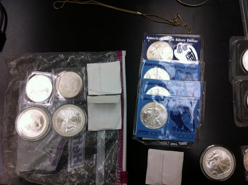 Stolen coin collection confiscated in North side home burglaries
