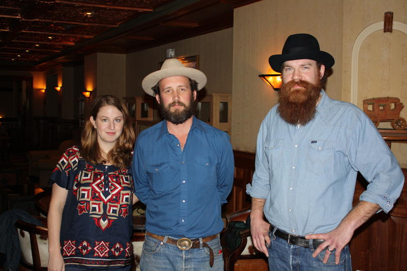 "L to R: Sara Ann Mockbee, Jack ""Jay"" Sanders, and Sam Wainwright Douglas, the filmmakers behind Citizen Architect."