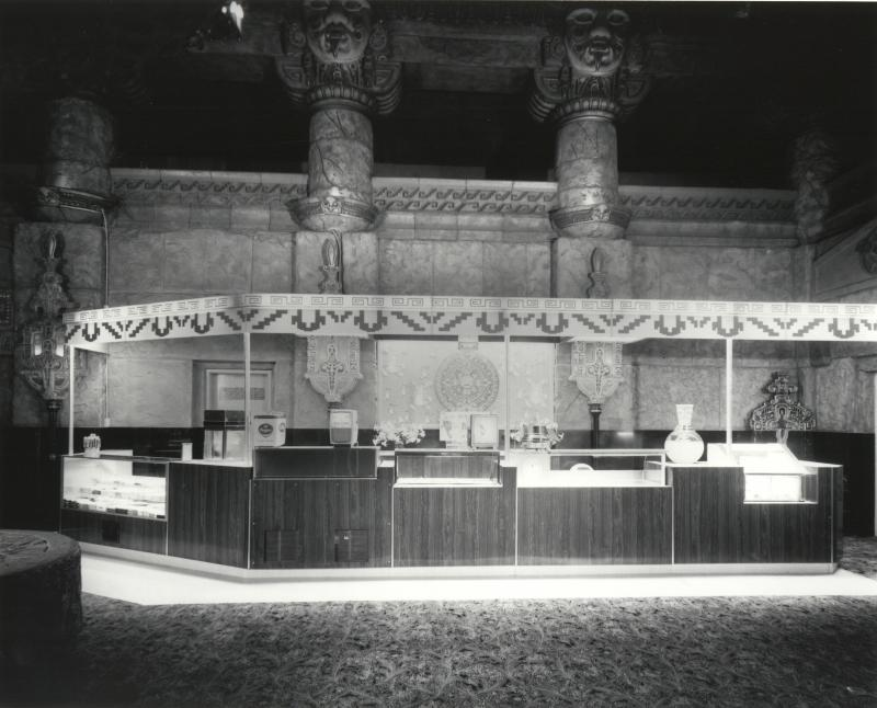 Aztec theater.