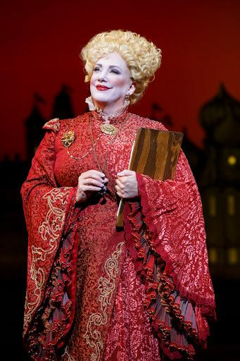 Kathy Fitzgerald as Madame Morrible.