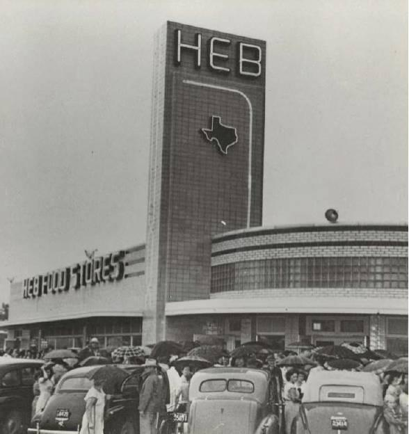 H-E-B's oldest store still in operation opened to enthusiastic crowds in 1945. Historians say buildings over 50 years of age must go through a review process before they can be torn down.