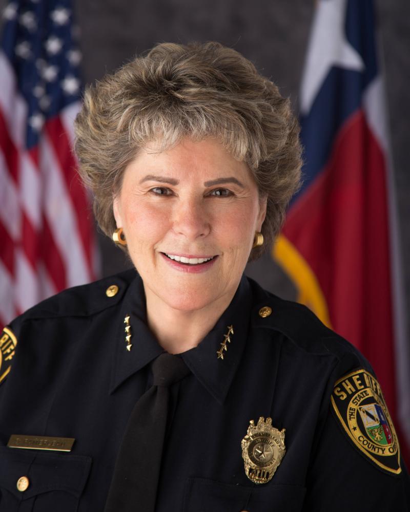Bexar County Sheriff Susan Pamerleau.