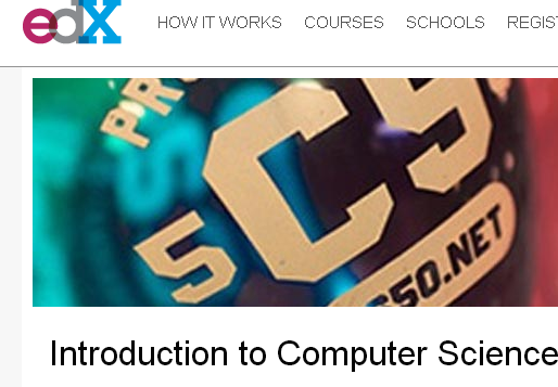 edX is one MOOC provider along with Coursera.