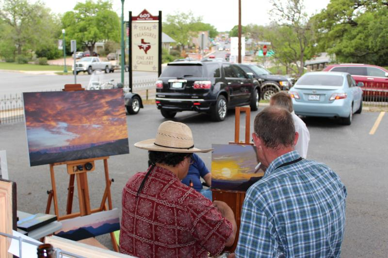 Second Saturday Art & Wine, Boerne.