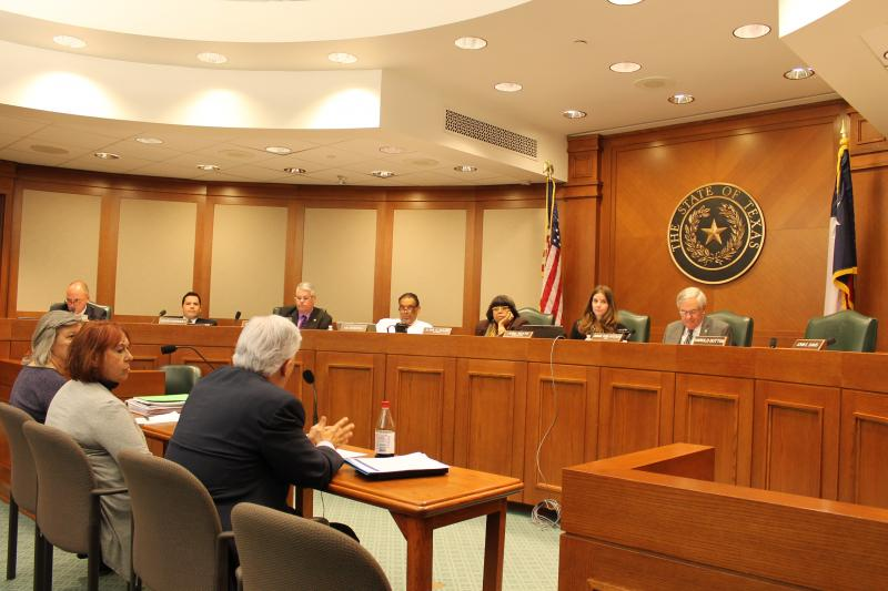 Testimony before the Texas House Public Education Interim Committee.