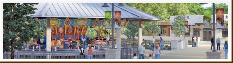 Zootennial carousel.