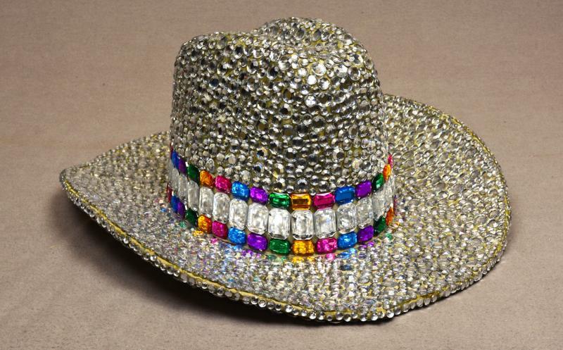 Rhinestone Cowboy Hat by Ed Flores