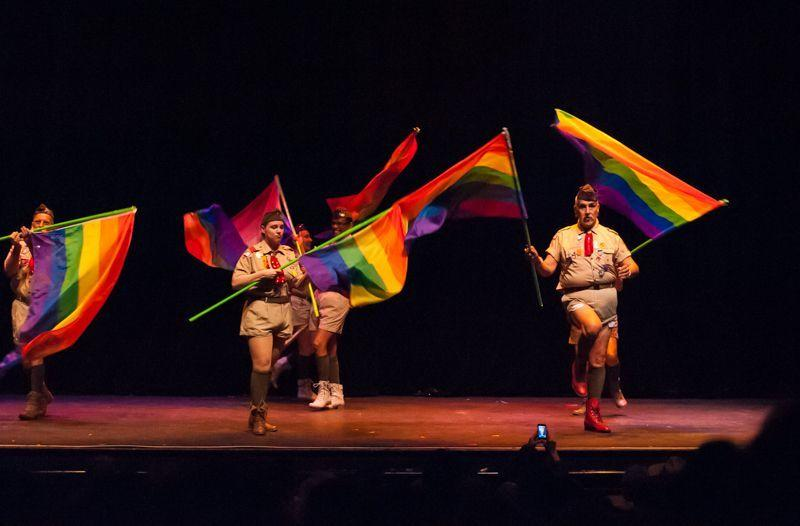 The Court of We Don't Need No Stinking Badges - The first gay boyscout jamboree.