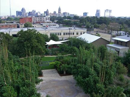 CHRISpark and downtown.