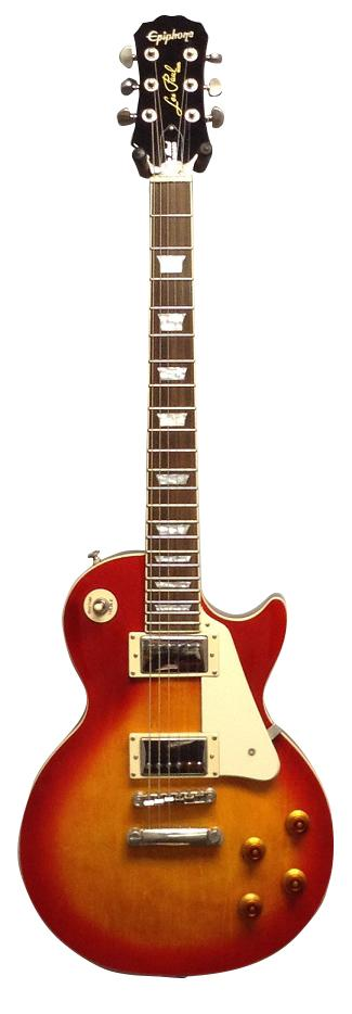 Les Paul guitar.