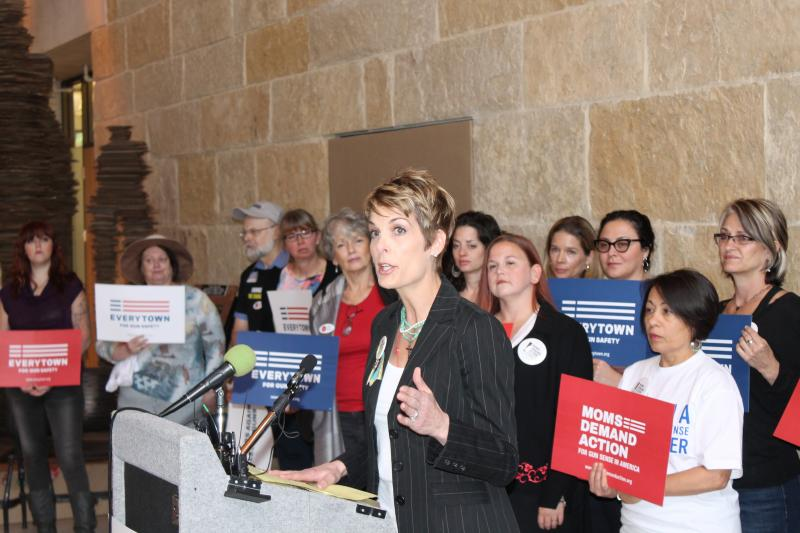 Kelly Burke, president of Texas chapter of Mom's Demand Action for Gun Sense in America.