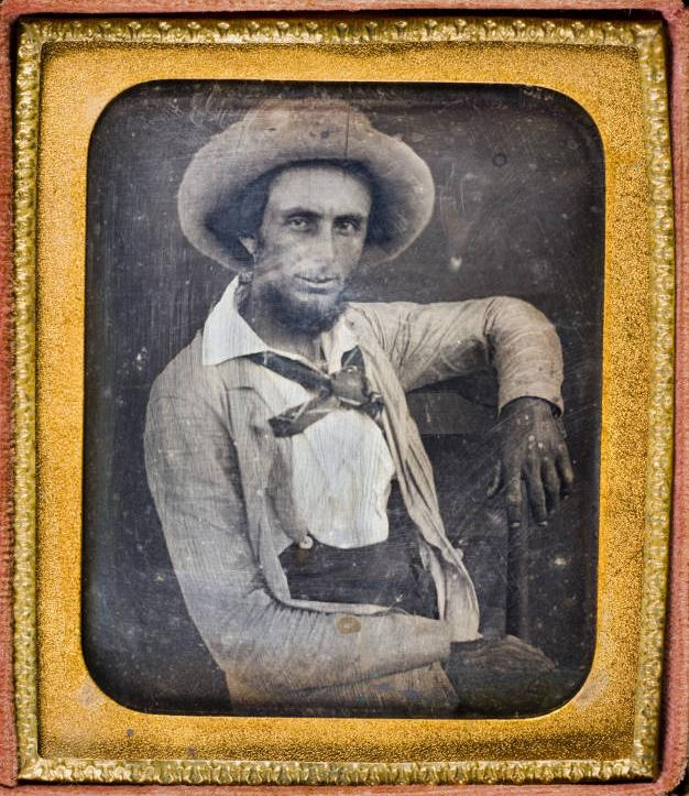 James Buckner ''Buck'' Barry, Texas Ranger (1853).