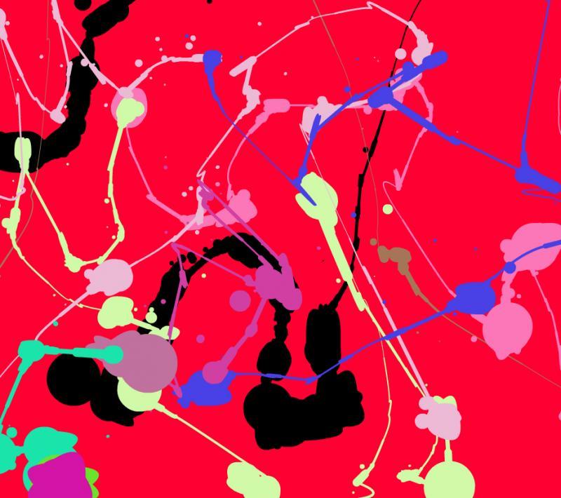 "Kuusisto describes his vision as ""like a Jackson Pollock painting."""