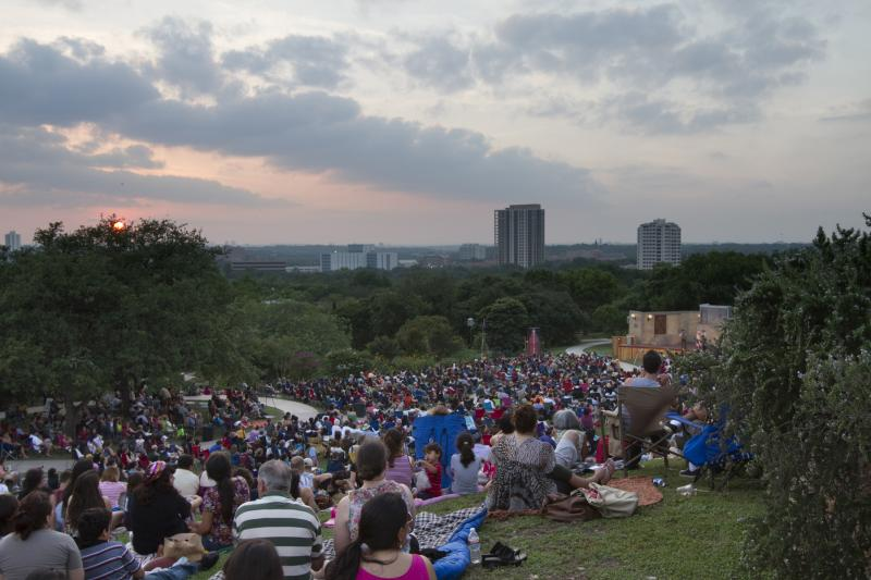 Location for Shakespeare in the Park.