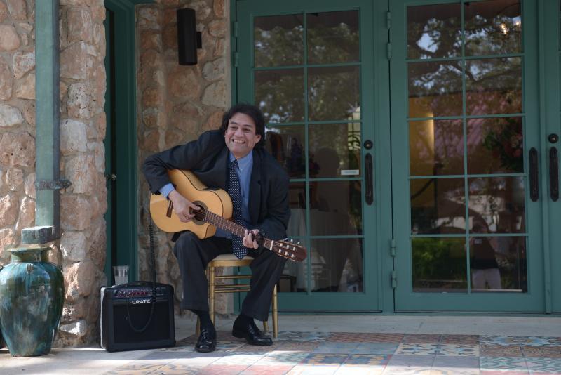 Classical guitarist George Gaytan