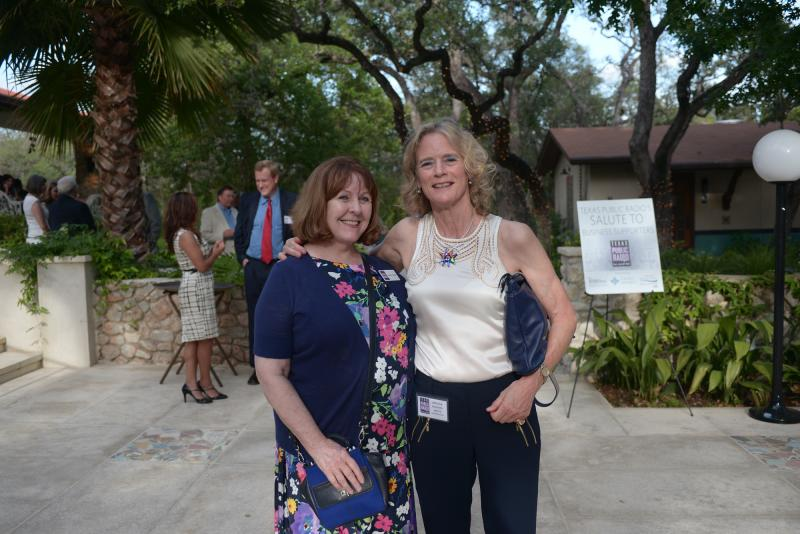 TPR's Deirdre Saravia and Melissa Childers-White