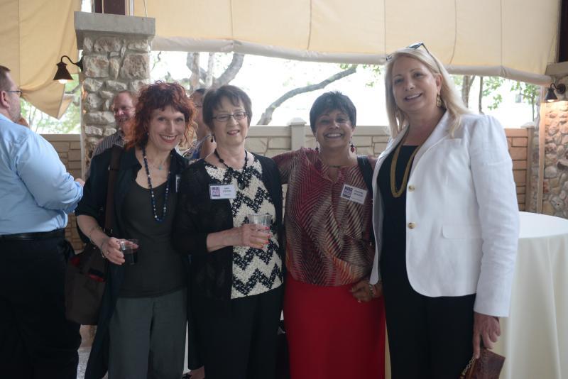 Deanne Eagle, Ann stevens, Pauline Jackson and TPR's CEO Joyce Slocum