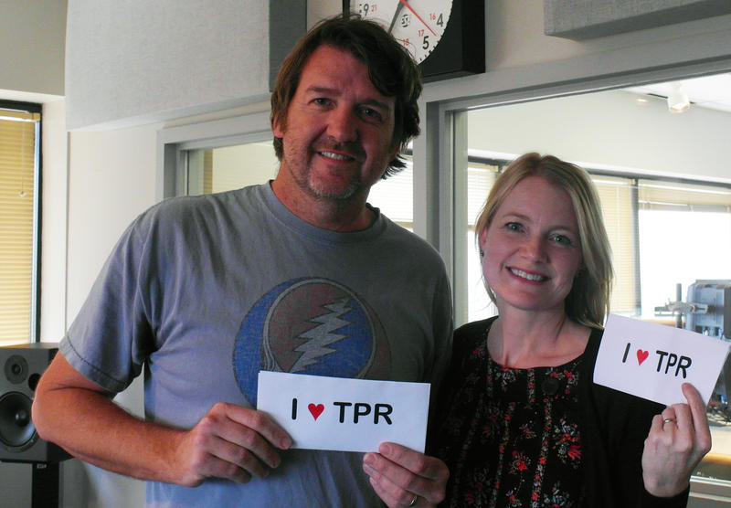 Bruce Robison and Kelly Willis love TPR!