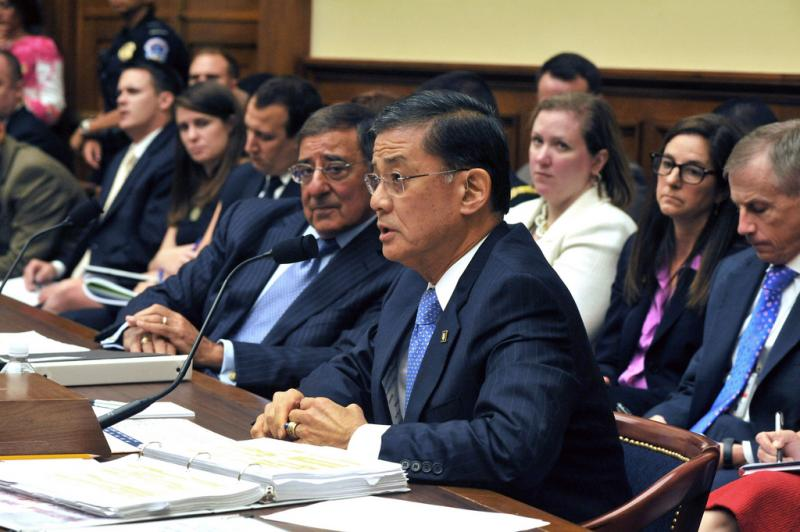 Eric Shinseki, the head of Veterans Affairs, has been widely criticized over the allegations.