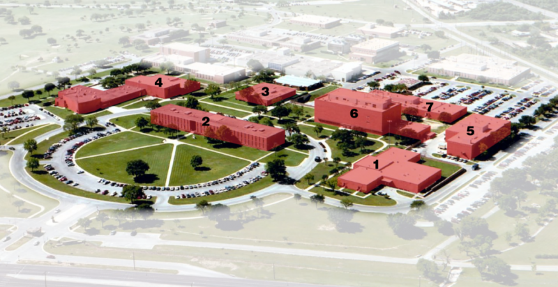 Seven buildings of the former U.S. Air Force School of Aerospace Medicine will be used by UIW for its medical school.