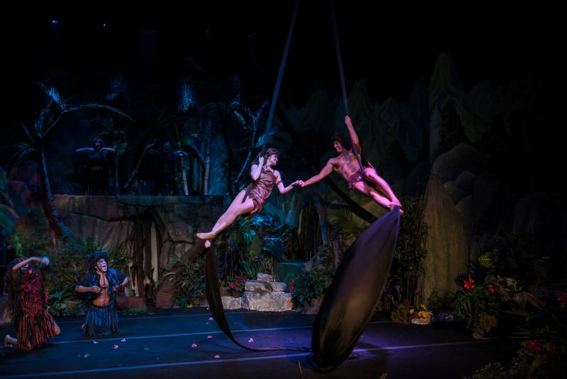 Jane and Tarzan.