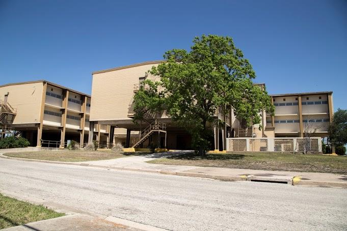 Some of the JBSA-Lackland dorms where hundreds of children are currently living.