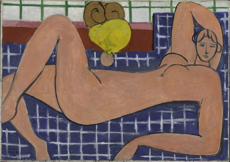 "Matisse ""Large Reclining Nude."""