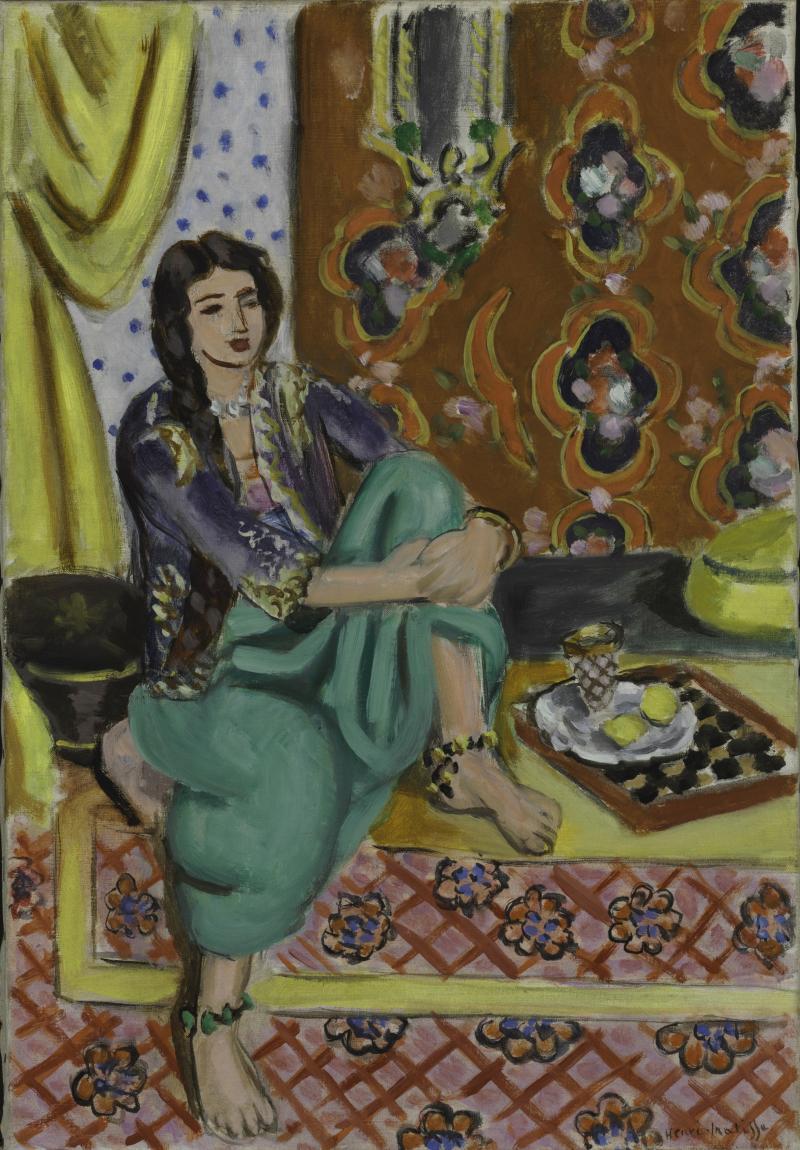 """A Matisse """"Odalisque."""""""