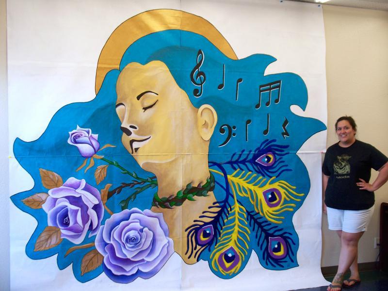 Mini mural.