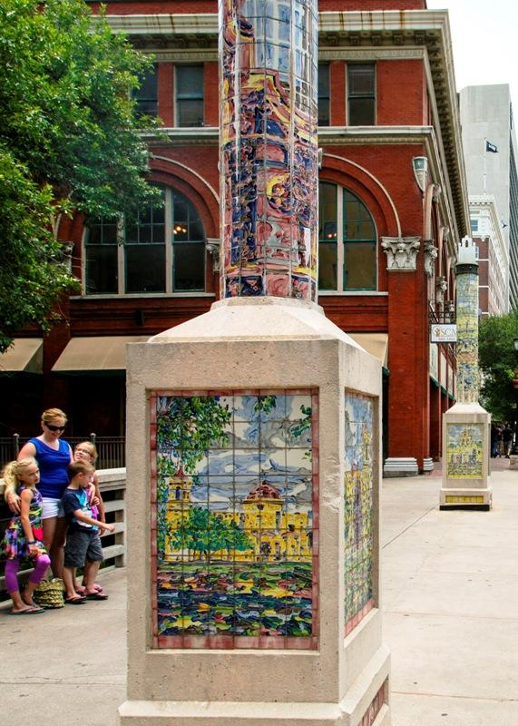 One of the Obelisks