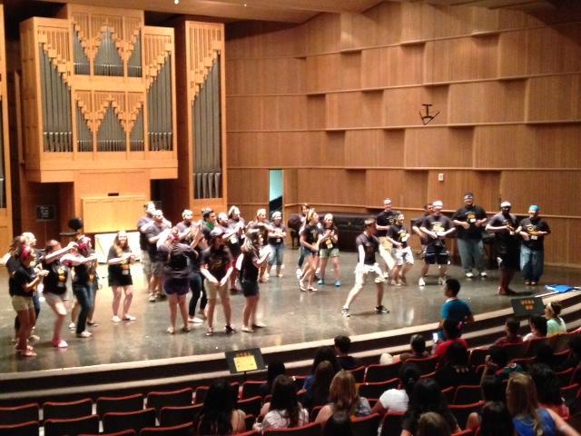 UTSA Choir Camp.
