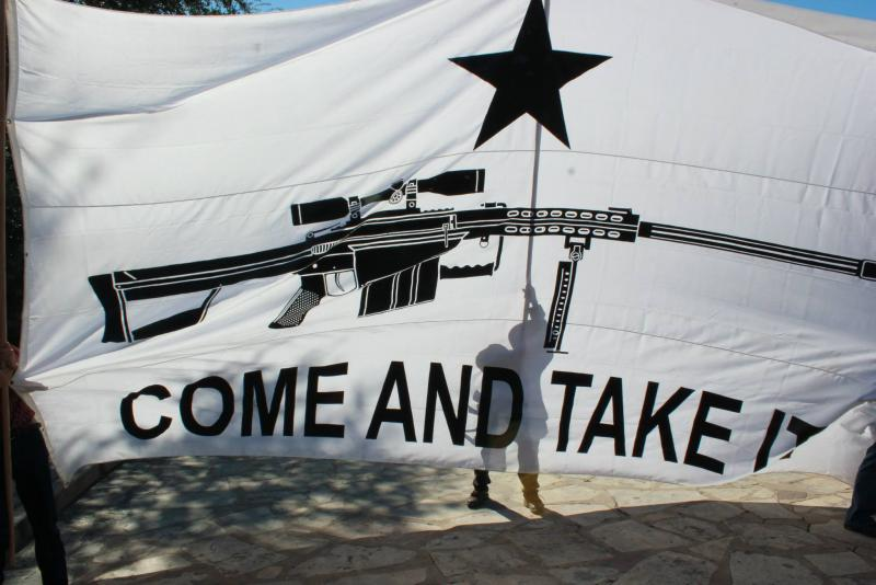 Open Carry Texas at the Alamo