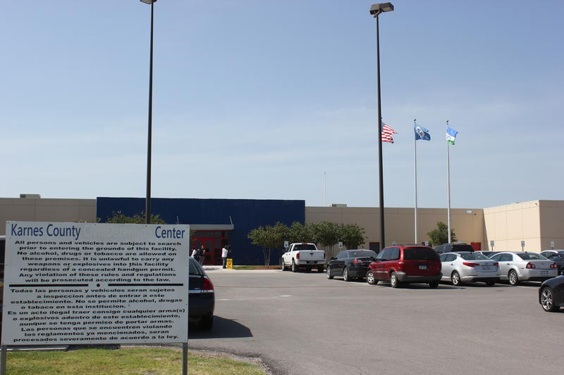 The exterior of the Karnes County Residential Center. Formerly the Civil Detention Center